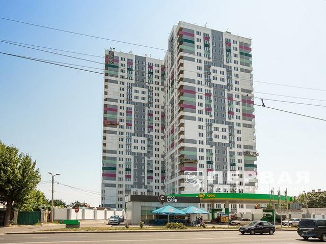 """A two-bedroom apartment in the new rented house """"Horizon"""" on the street. Kostandi/Lustdorf Road"""
