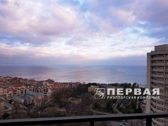 """Gagarinsky"" apartment overlooking the sea in Arcadia"