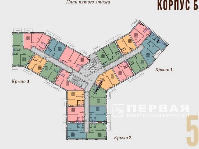 """Residential Complex """"Continent"""" at 4 stations of the Lustdorf Road"""