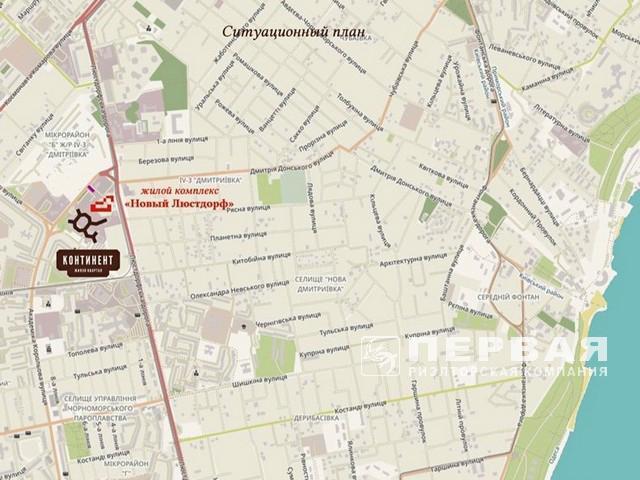 ЖК «Континент» 2-х комнатные квартиры 59  кв.м.