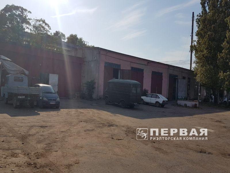 Производственно-складская база. Николаевская дорога