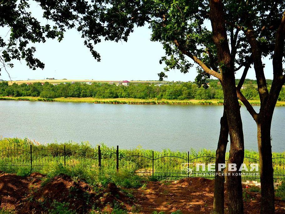 Land near the lake for sale.