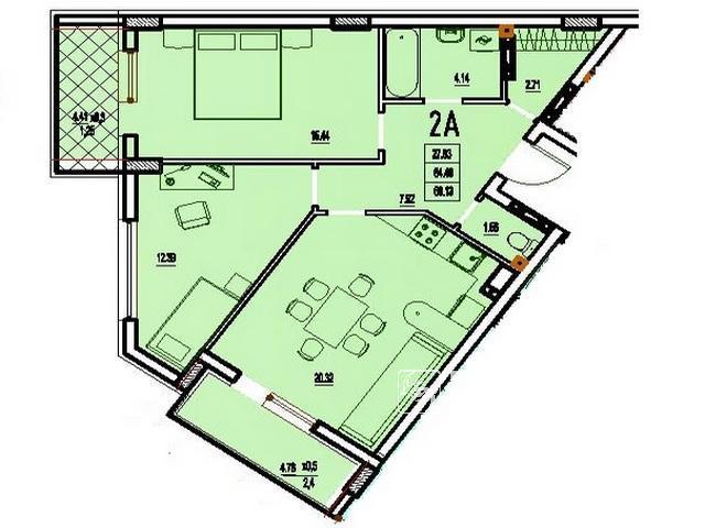 2-х комн. квартиры в новом ЖК «Derby Style House»