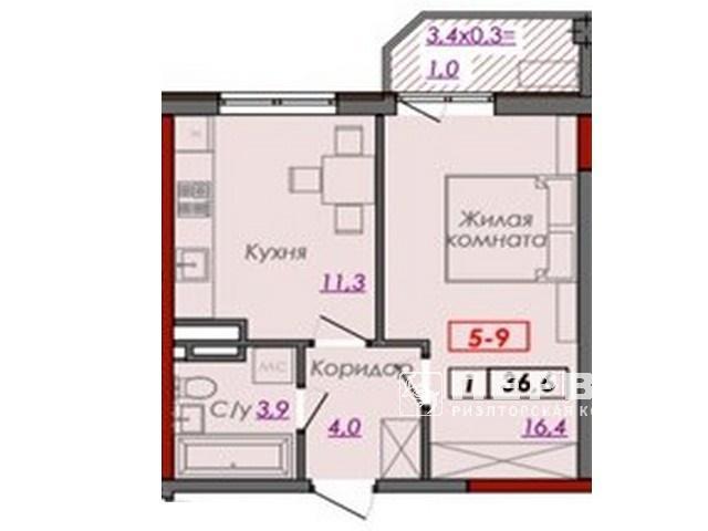 """Квартиры в новом ЖК """"Монблан"""" в Аркадии"""