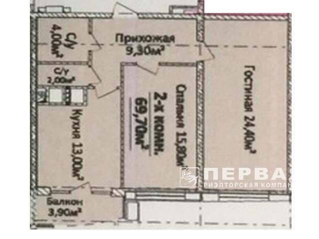2-кімнатні квартири в новому ЖК «4 Сезони» пр. Гагаріна 19