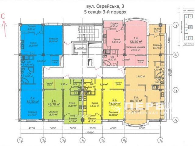 3-кімнатні квартири в елітному новому будинку на вул. Карантинна