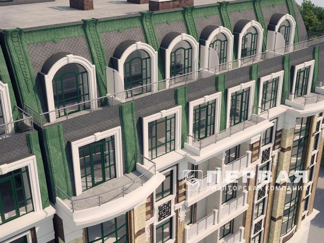 Елітний новий будинок в історичній части міста, єврейська вулиця