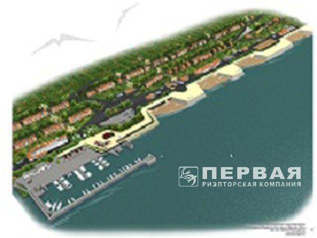 Novobugovo, 18 hectares for the recreation center. The first line from the sea.