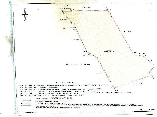 Chernomorsk Land with a coastline of 248 m to accommodate berthing and storage facilities