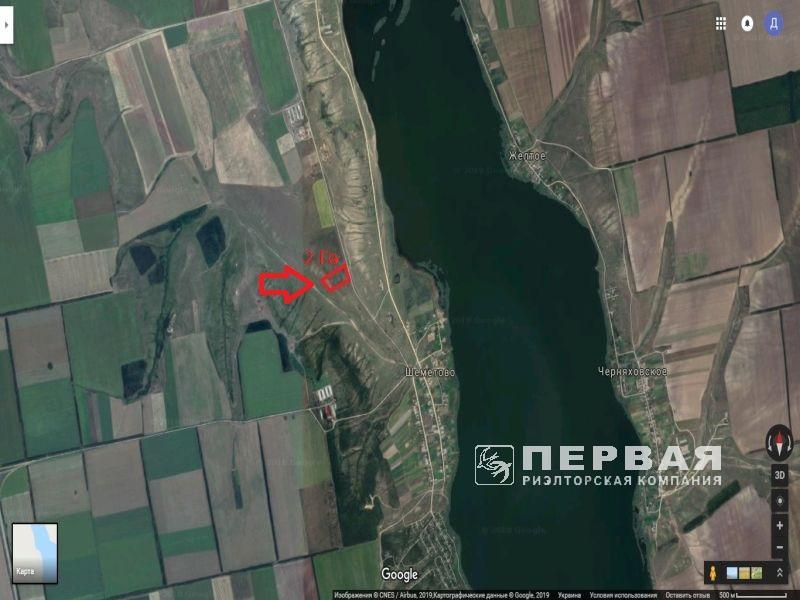 Land for construction on the shore of the Khadjibeevsky estuary for sale.