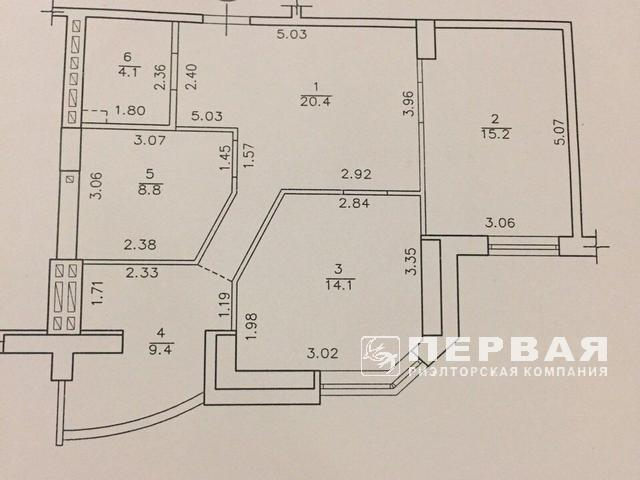 "3-room apartment of M. Govorov in the residential complex ""Assol"""