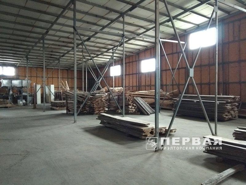 Предприятие для переработки древесины