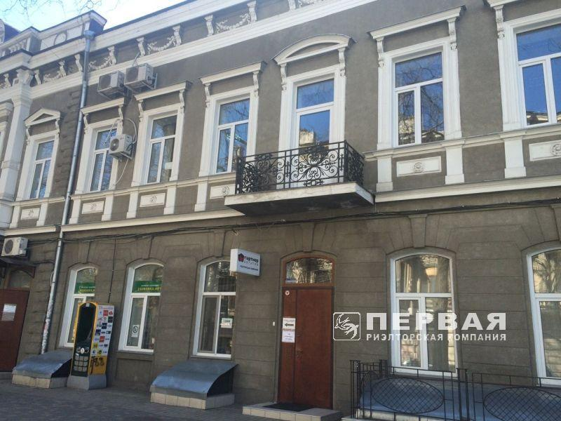 An office building on Koblevskaya Street. There are tenants.