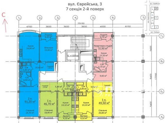 Elite new home in the historic part of the city, Yevreyskaya Street