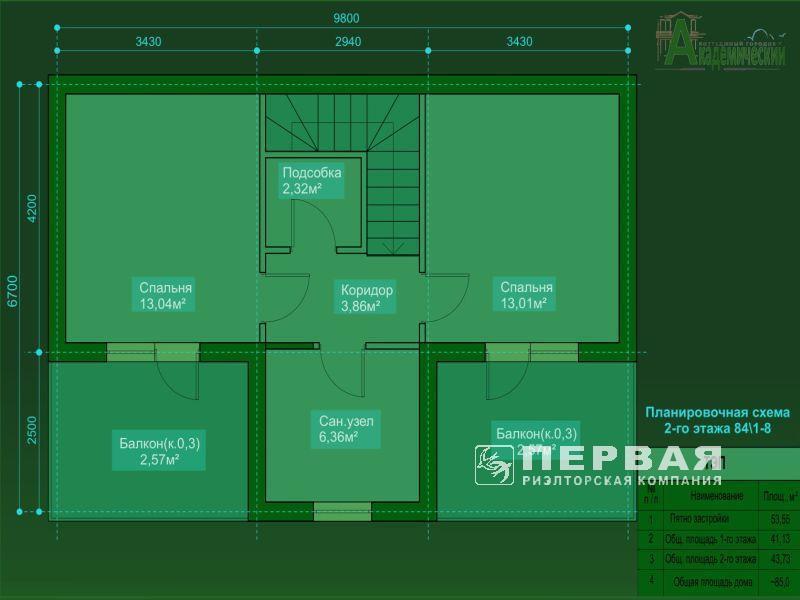 """2-х уровневые квартиры со своим двором!  ЖК """"Академический""""."""