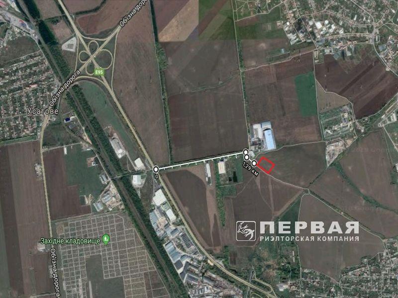 Земельна ділянка 1,78 Га під виробництво. Київське шосе.