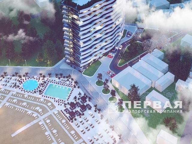 "New residential complex ""AURA APART"" on 16 art. B. Fountain"