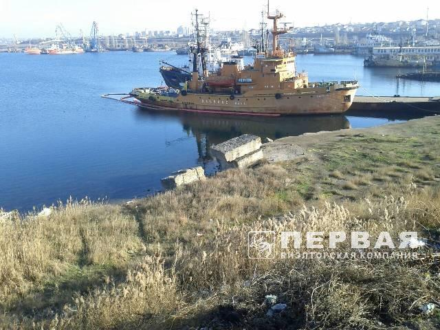 Черноморск, 1,14 га с береговой линией 248 м