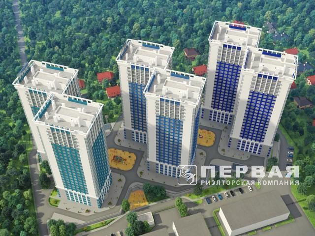 1-но комнатные квартиры от 43 кв.м.  ЖК «Омега»