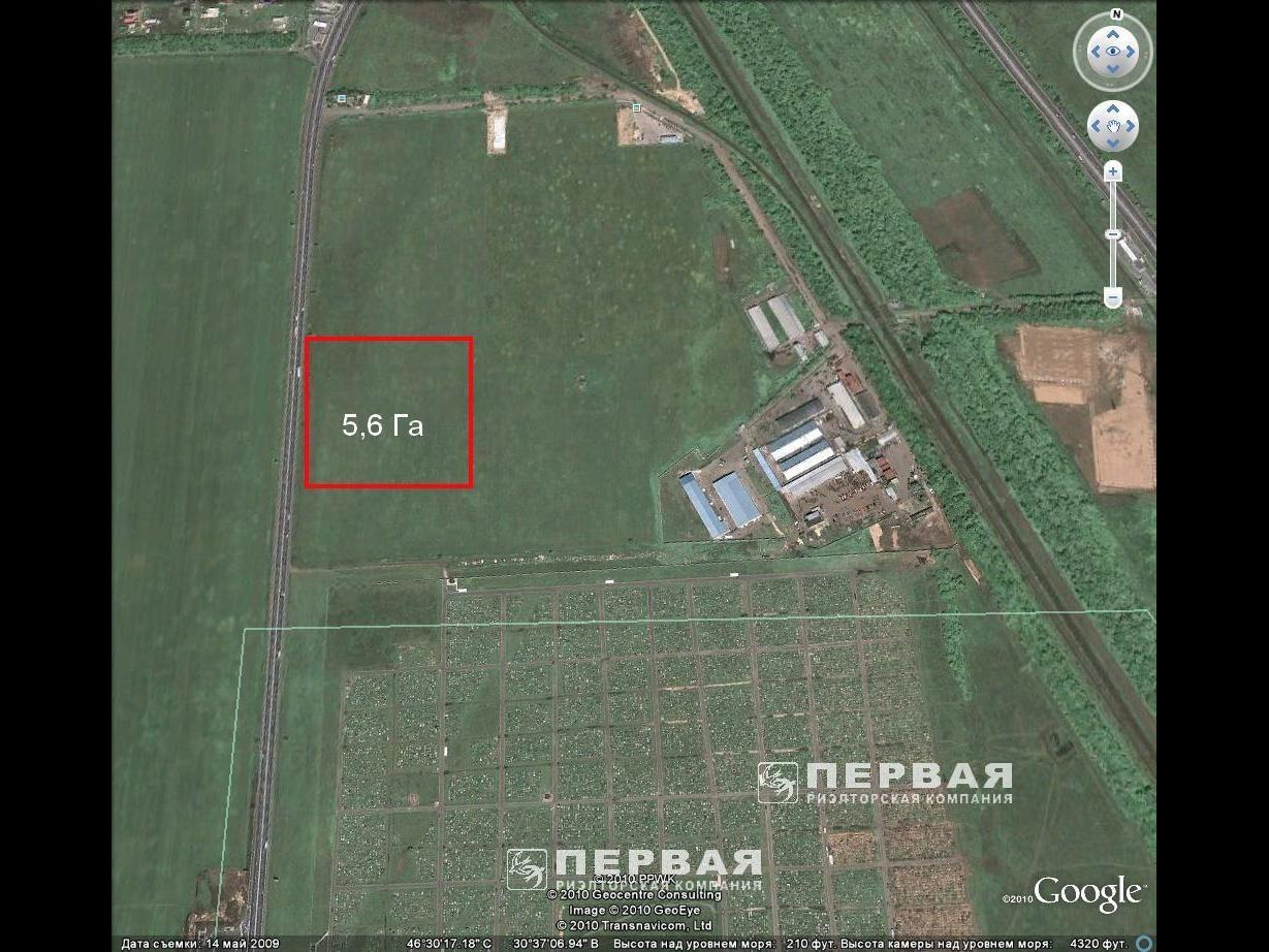 5.57 ha. Can be used as warehouse complex. Village Avangard.