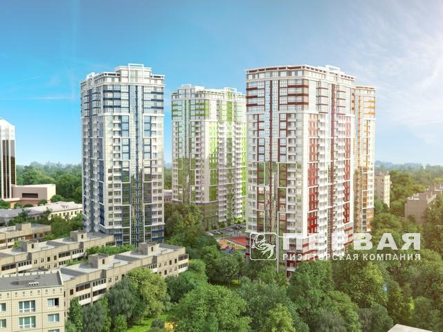 "New apartment complex ""Four Seasons"" on Ave. Gagarina 19, Ave. Shevchenko"