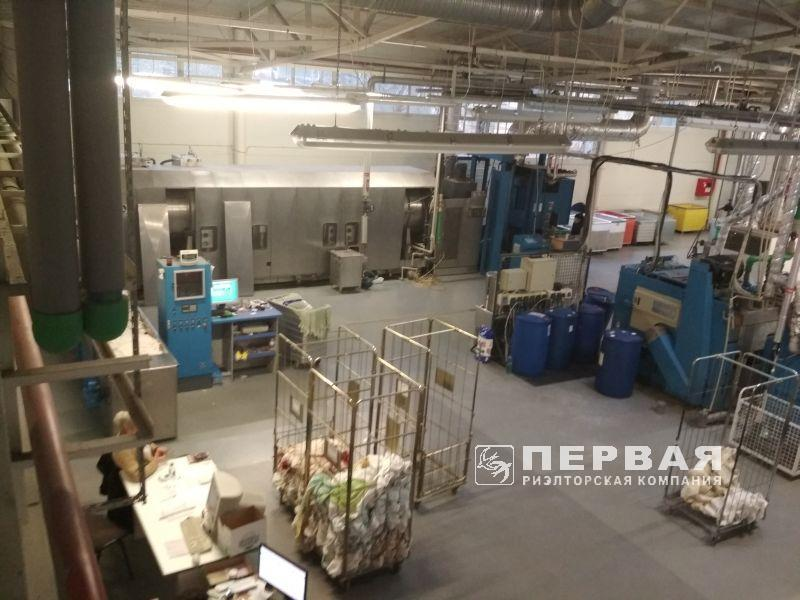 Laundry factory on the territory of 67 acres. Himichna st.