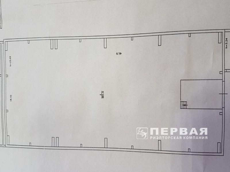 Warehouse 881.6 sq.m. St. Bugayvska