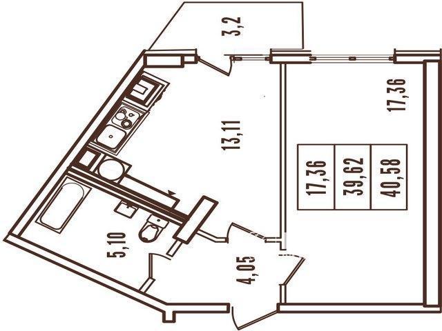 """1 але кімнатні квартири в ЖК """"Континент"""""""