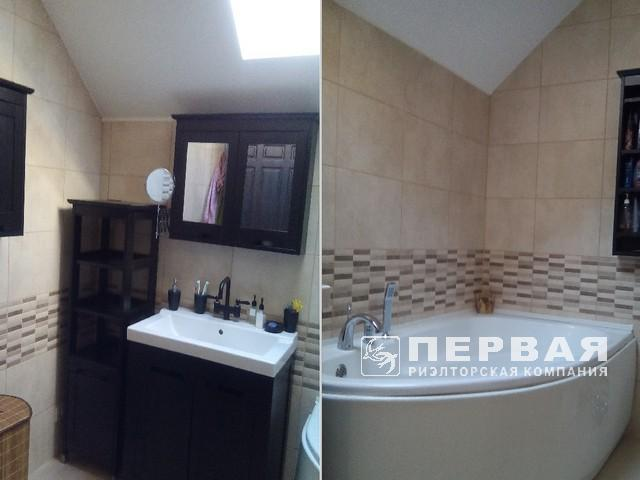 150 sq m house with repairs in Chervonuy Hutor.