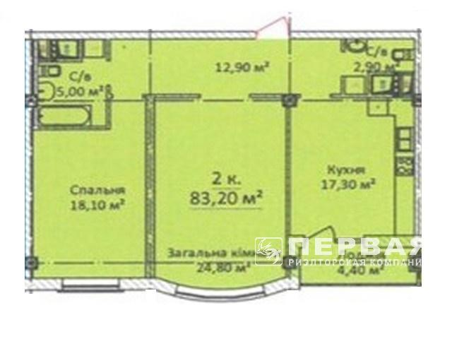 Довгоочікуваний будинок на вул. Карантинна, 2-х кімнатні квартири від 80 кв. м. в історичній частині міста