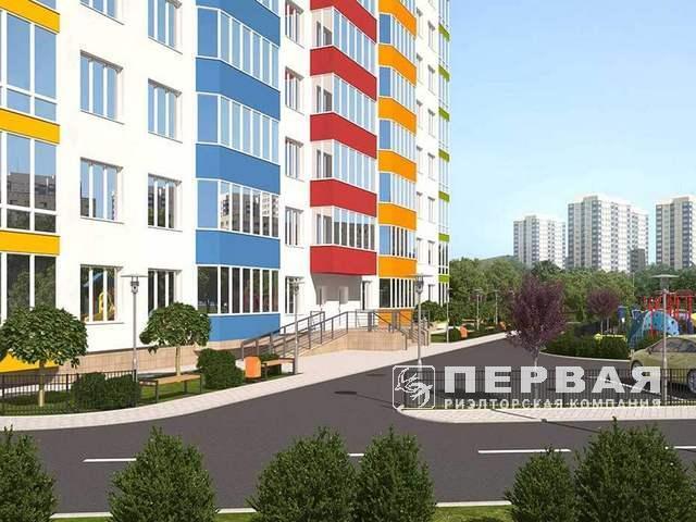 1-кімнатні квартири від 22 кв. м. до 40 кв. м. На Aquarel вулиці. Вільямс