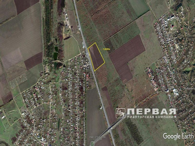 Land for sale 7.2-hectare near the village Dachne
