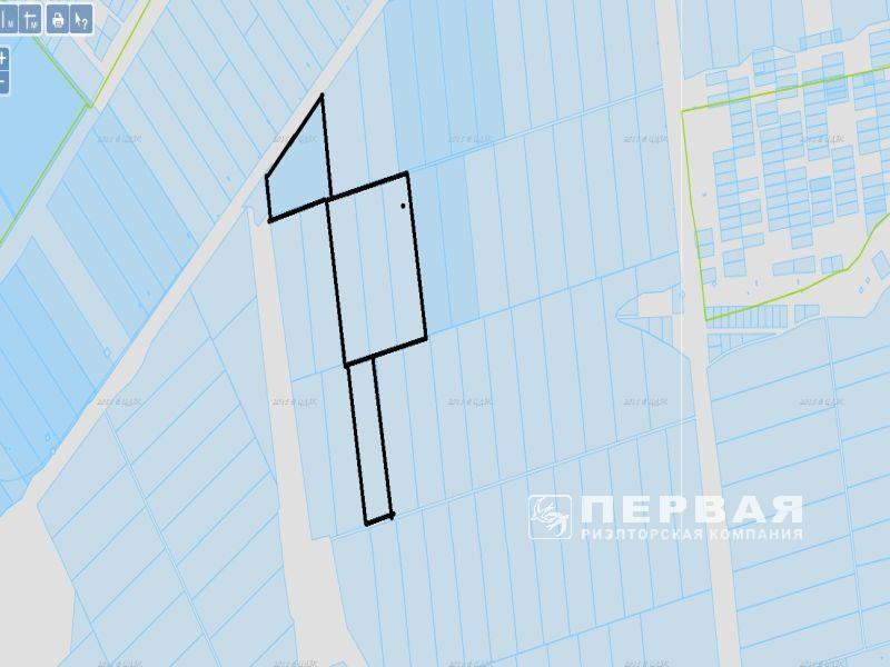 Земельна ділянка 8,9 Га. Конюшинна міст.