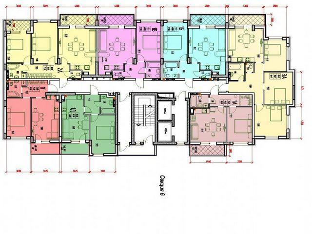 """1 bedroom Apartments Residential Complex """"Derby Style House"""" Fountain Road"""