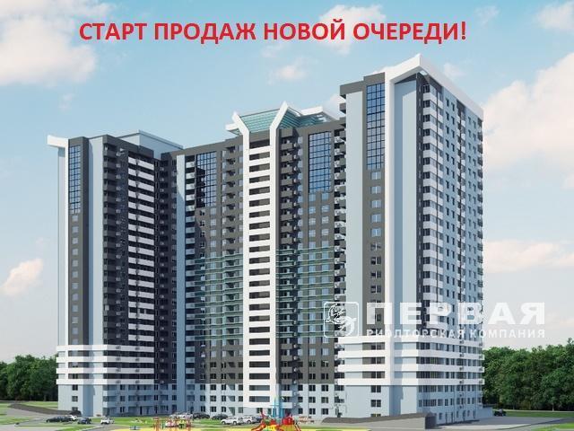 1-но комнатная квартира 42 кв.м. ЖК«Скай Сити»