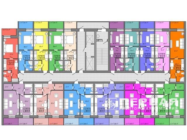 Residential complex Akvarel'-2 on Tairova.