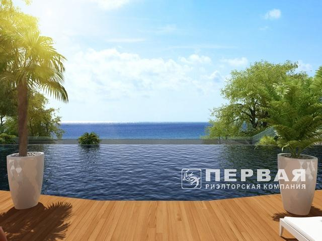 """""""Greenwood"""". New residential complex near the sea."""