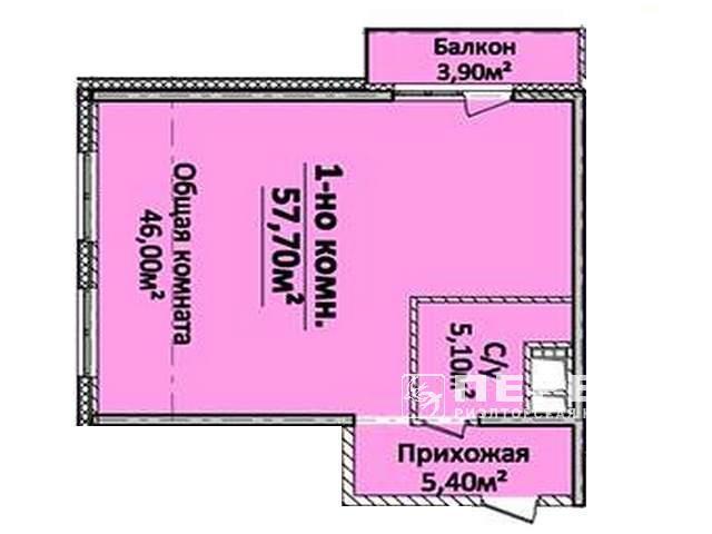 Квартиры от 43,3 ЖК «Новый берег» 8 ст. Б. Фонтана