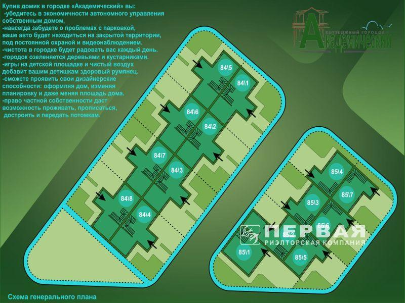 2-х уровневые квартиры со своим двором!  ЖК «Академический».