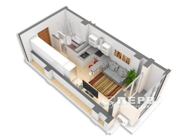 1 bedroom Apartment RC Smart Hall
