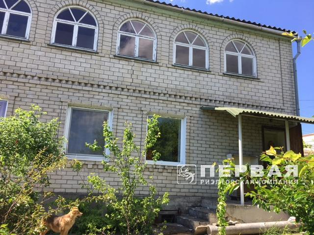 """Suhoy Liman, two-storey brick house in the cooperative """"Mercury."""""""