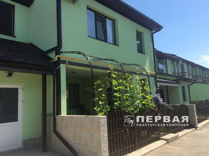 "Townhouse in cottage village ""Akademichniy"" for sale. 85 sq.m."