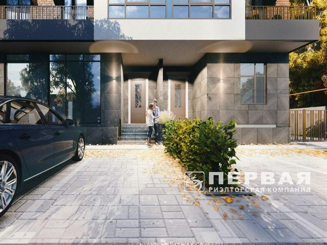 Apartments in a new apartment building on Lustdorf Road / Dmitry Donskoy