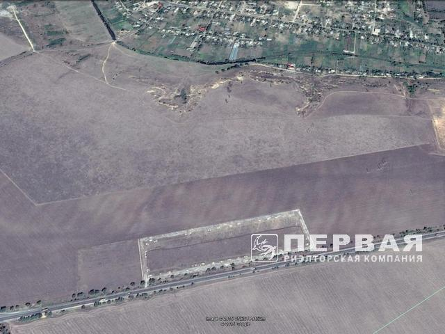 Sale of the plot facade on the Odessa-Ishmael highway, Mr. Mirny