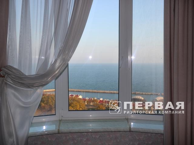 ЖК «Руслан и Людмила» Квартира с видом на море