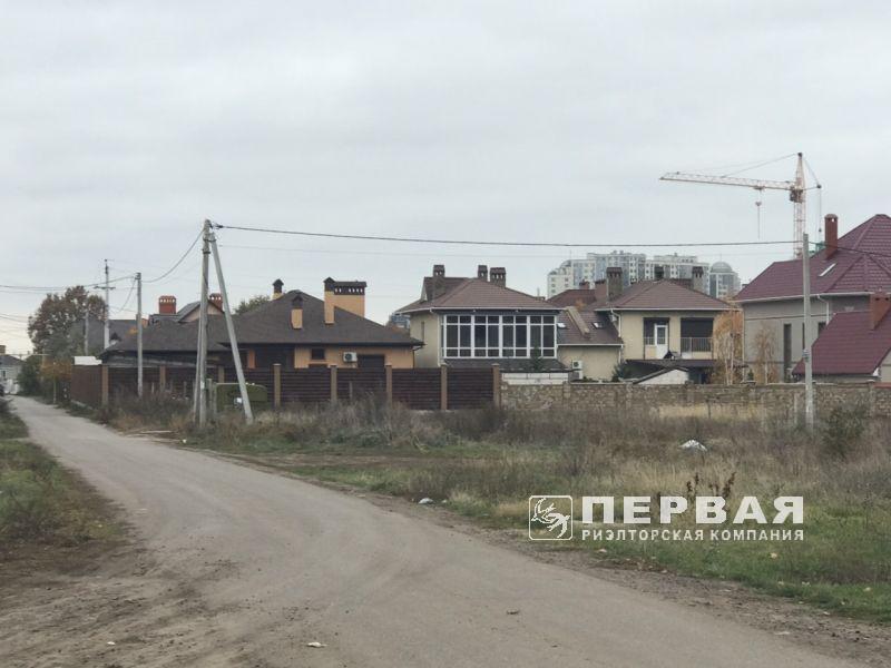 Ділянка в селіщі Кріжанівка, 8,4 сотки кутовий на два фасаду