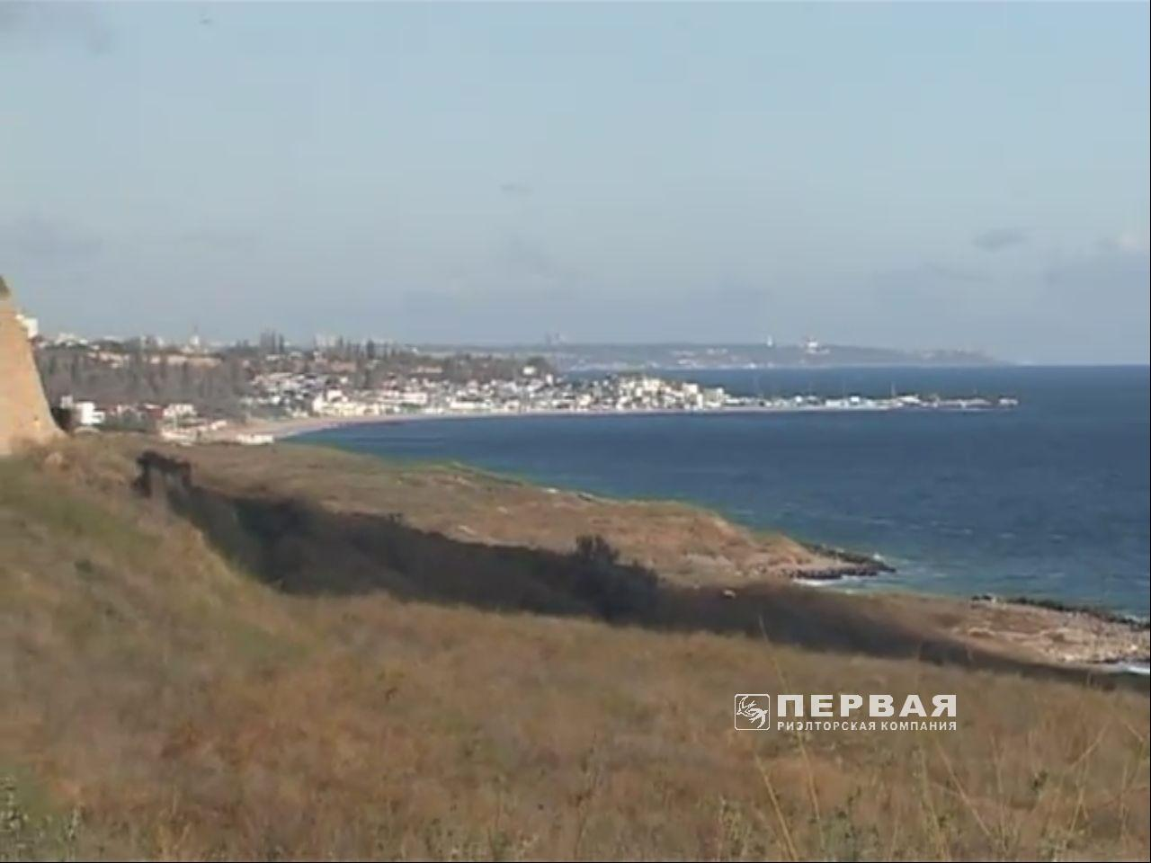 land 0.1 hectare with sea view for sale.