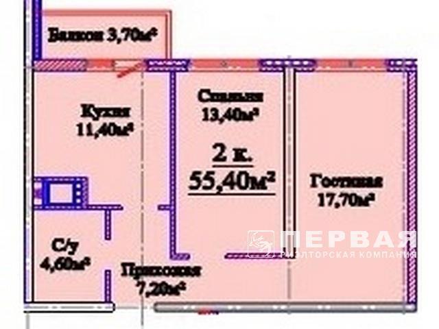 2-х комнатные квартиры в ЖК на ул. Михайловская