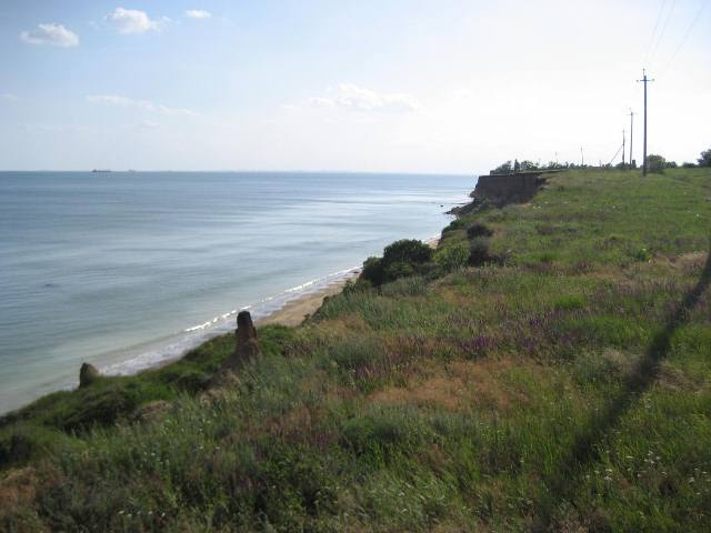 Plot near the sea, 550 acres for sale. For the suburban or cottage town.