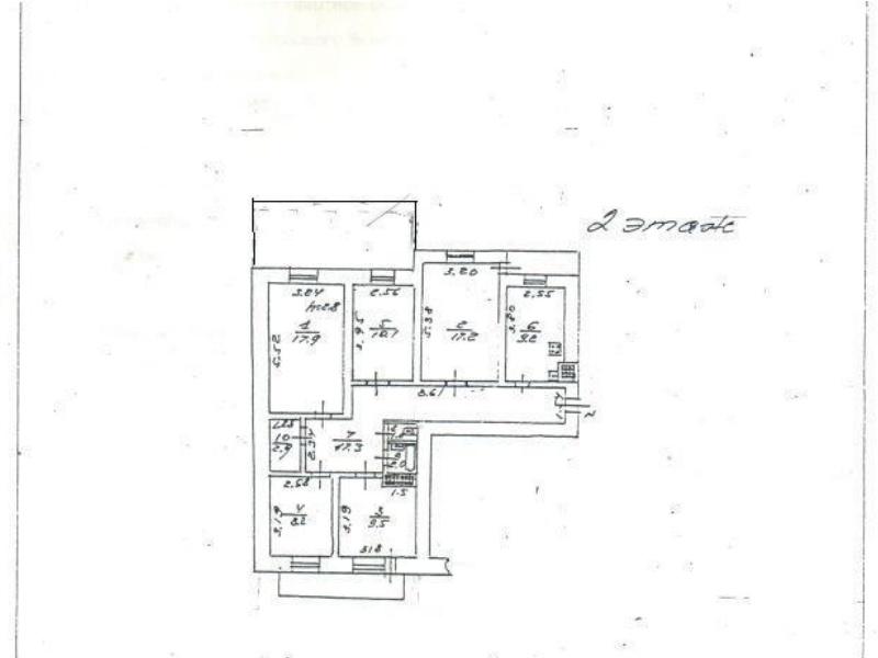 5-кімнатні апартаменти на Фонтані необхідний ремонт